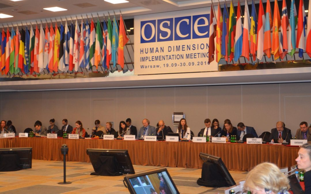 OSCE Human Dimension Freedom of religion or belief 26th September 2011 : MIVILUDES exporting the French model