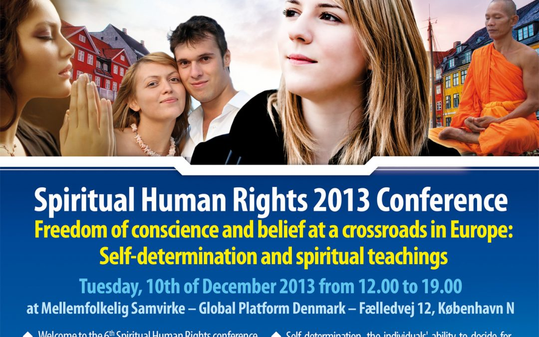 Side-event OSCE 2013 – Spiritual Human Rights