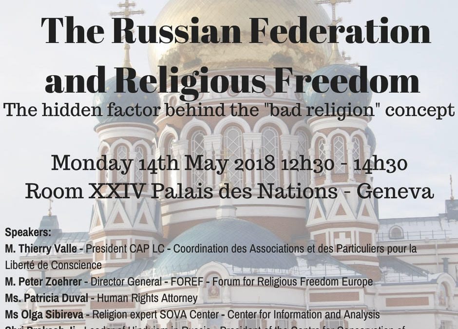 UPR : The Russian Federation and Religious Freedom