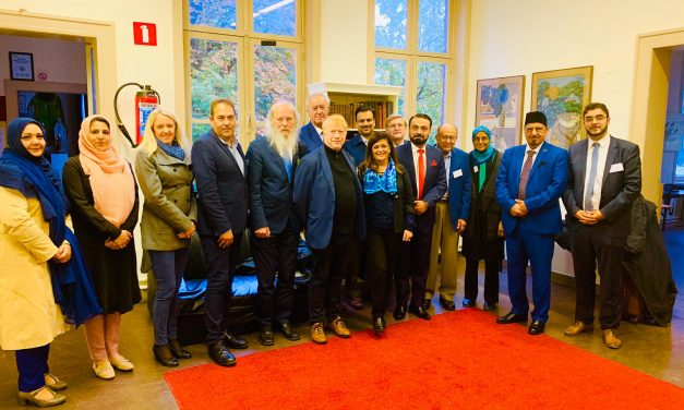 Faculty for Comparative Study of Religion and Humanism Antwerpen : conference Ahmadiyya