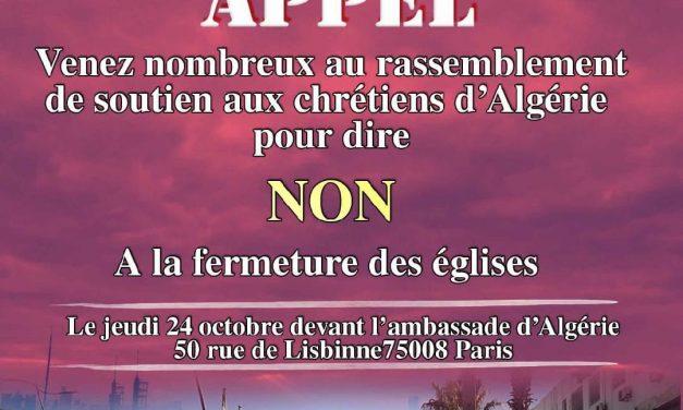 fermetures d'église en Algérie et persécution abusive des autorités