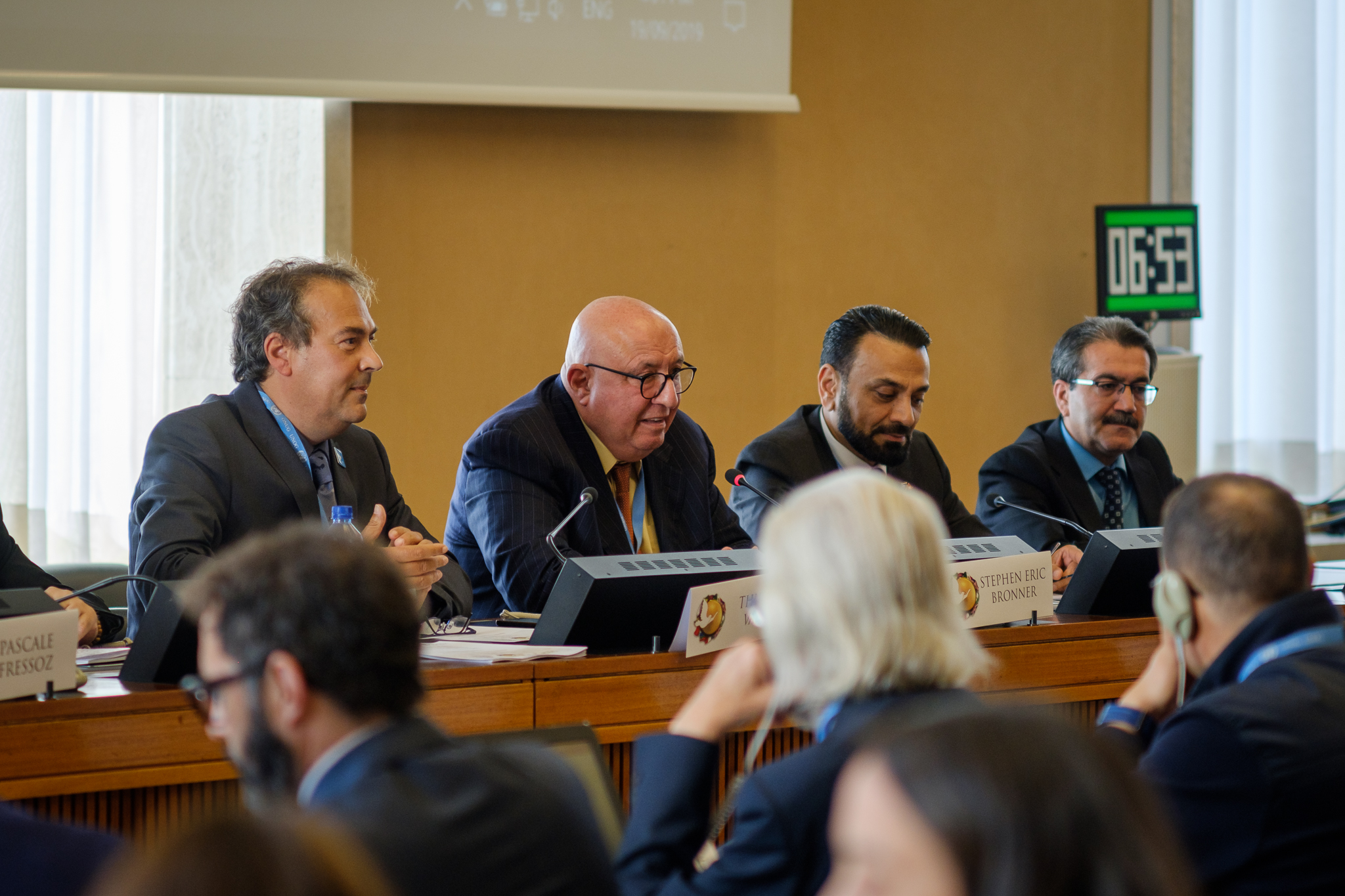 GENEVA UN Day of Peace September 19th 2019 panel 4