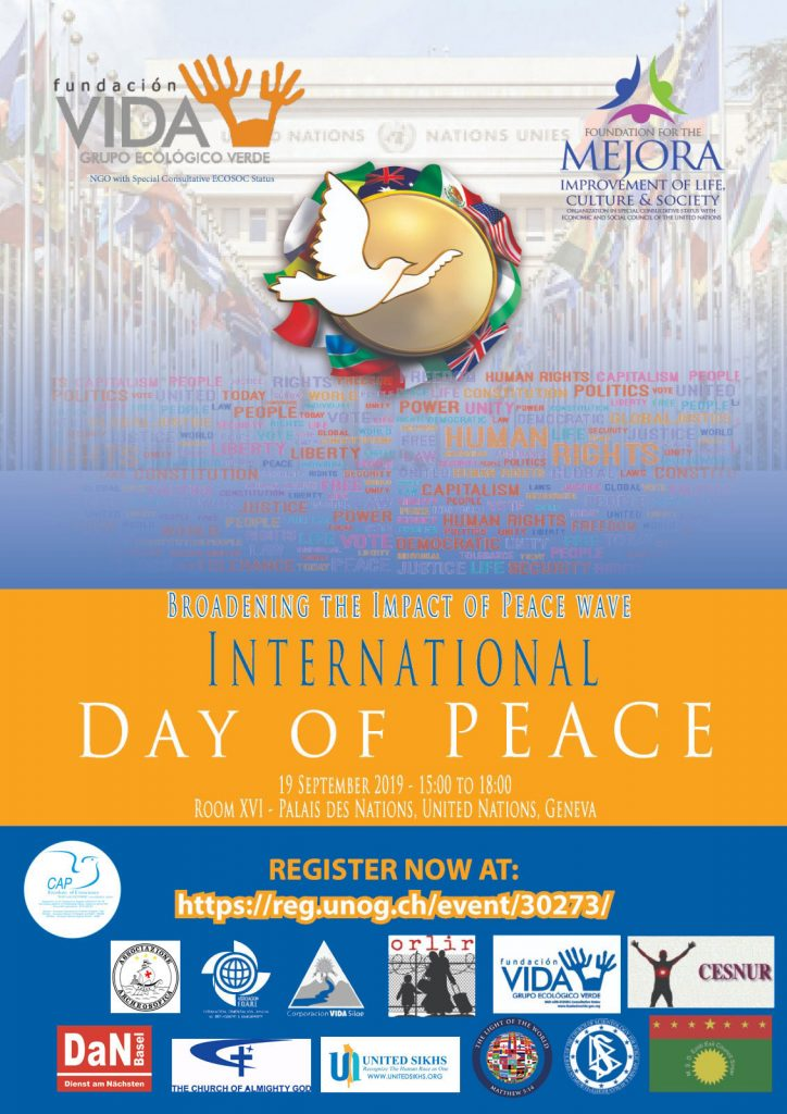 International Peace Day Conference: Emerging religions persecuted by the CCP are making efforts for world peace