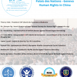 Human Rights Council 43rd : Human Rights in China