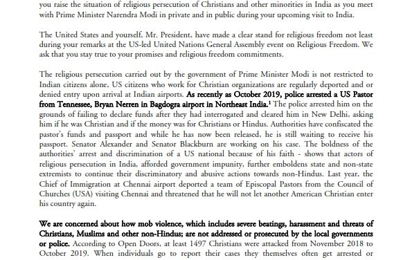 religious freedom situation in India