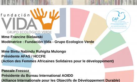 Droits des Femmes et Objectifs de développement durable