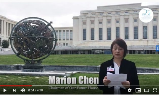 Marion chen president of the ngo our future house
