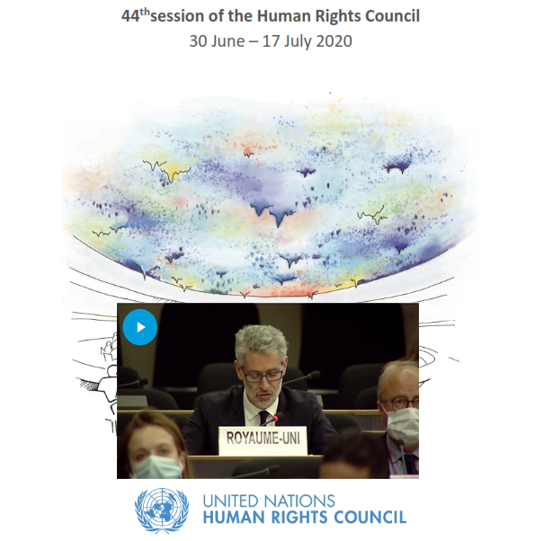 UN Human Rights Council 44: Cross-regional statement on Hong Kong and Xinjiang