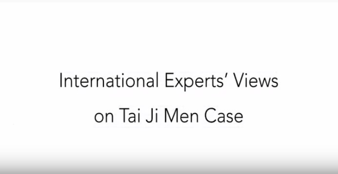 10 Experts' Opinions on Tai Ji Men Case