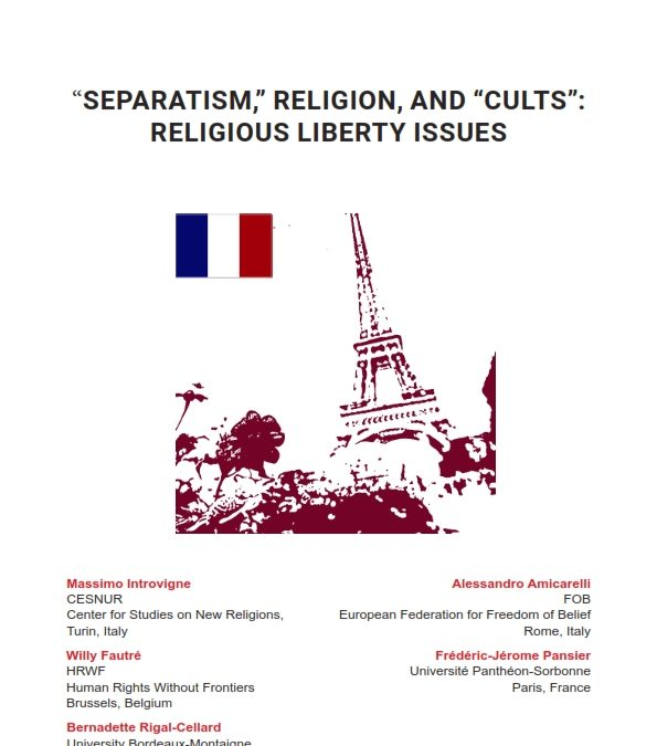 "French Draft Law Against ""Separatism"": Targeting Radical Islam, but Problematic for Religious Liberty"