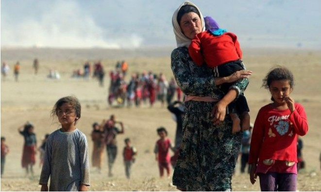 We appeal to the UN, the USA and the European Union to take immediate action against air strikes by the Turkish state in Sinjar.