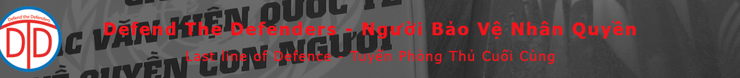 Mr. Nguyễn Bắc Truyển and other prisoners on hunger strike over prison conditions in An Điềm Prison, Quảng Nam Province