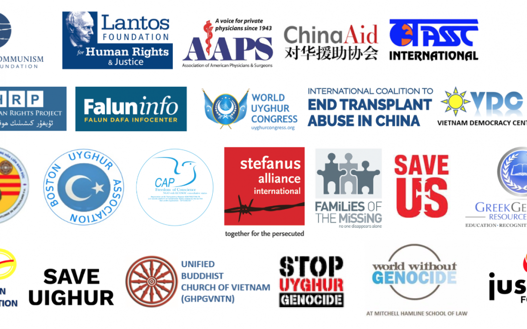 Over 70 Civil Society Organisations Urge for Co-sponsorship of the US Stop Forced Organ Harvesting Bill of 2021