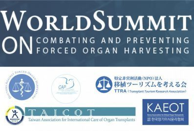 World Summit against Forced Organ Harvesting: An Alarm for Humankind